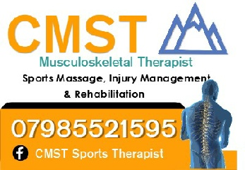 CMST A Range of Sport Therapies, Sport Massage Injury Management and Rehabilitation